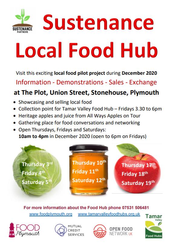 Sustenance Local Food Hub